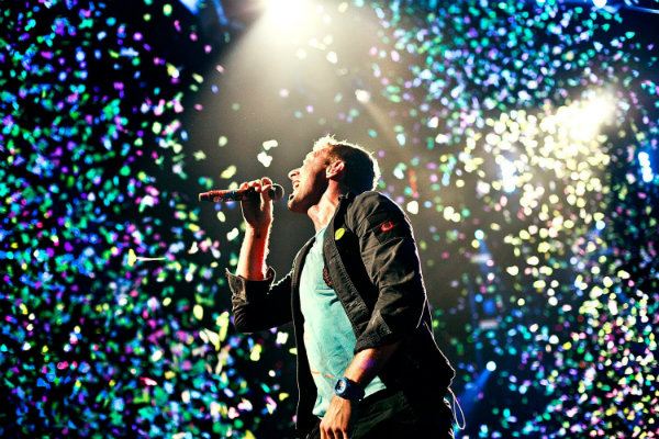 Adelanto del vivo de Coldplay