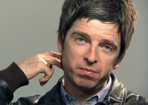 Noel Gallagher con Johnny Marr