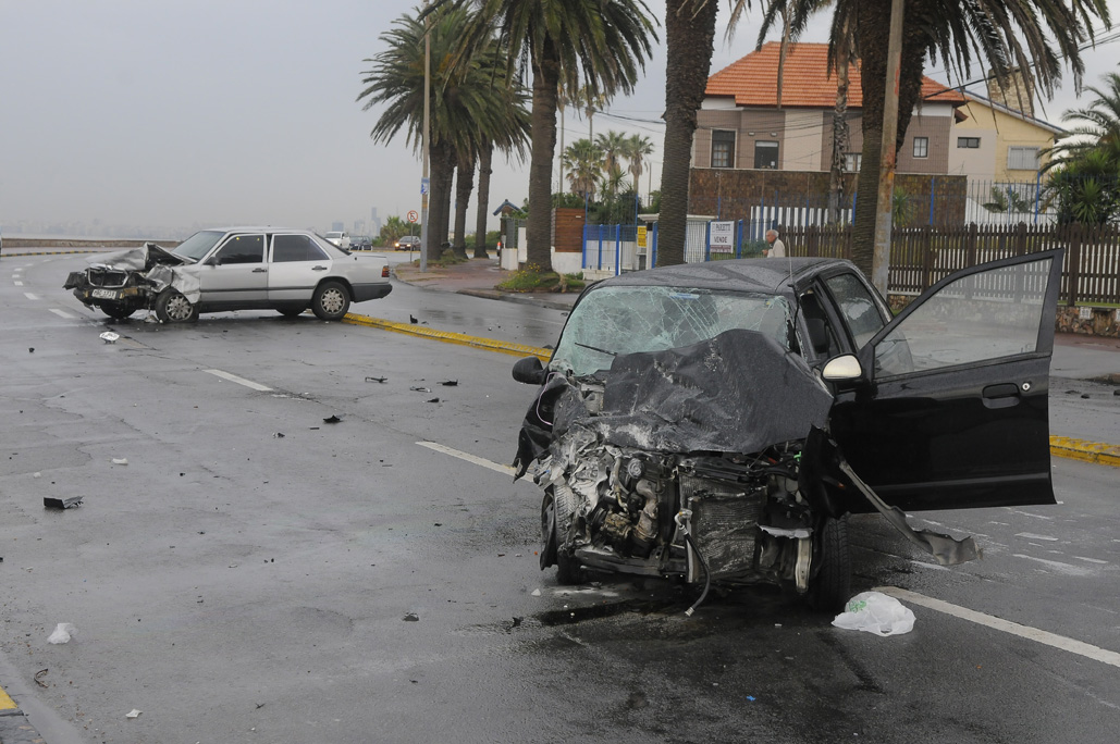 Accidente grave en la rambla de Punta Gorda