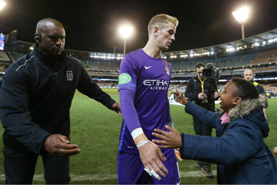 Joe Hart desplazó a Ichazo